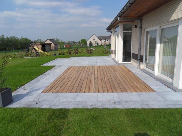 Pose et placement de terrasses en bois terrasses en bois - Terrasses en bois photos ...